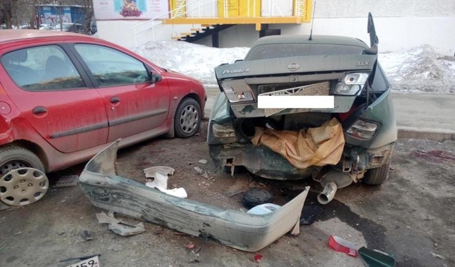 В Перми в автоаварии с пьяными водителями погибла девушка-пешеход