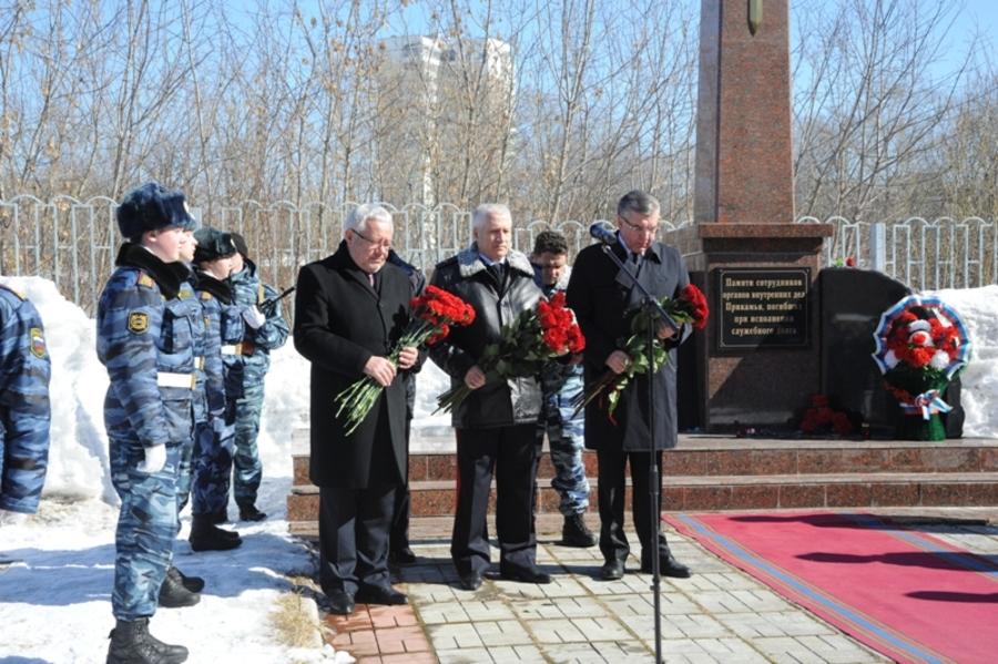 В Пермском крае почтили память погибших милиционеров - фото 8