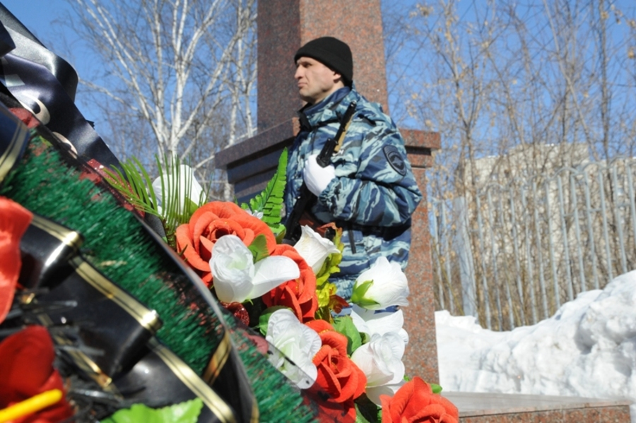 В Пермском крае почтили память погибших милиционеров - фото 12