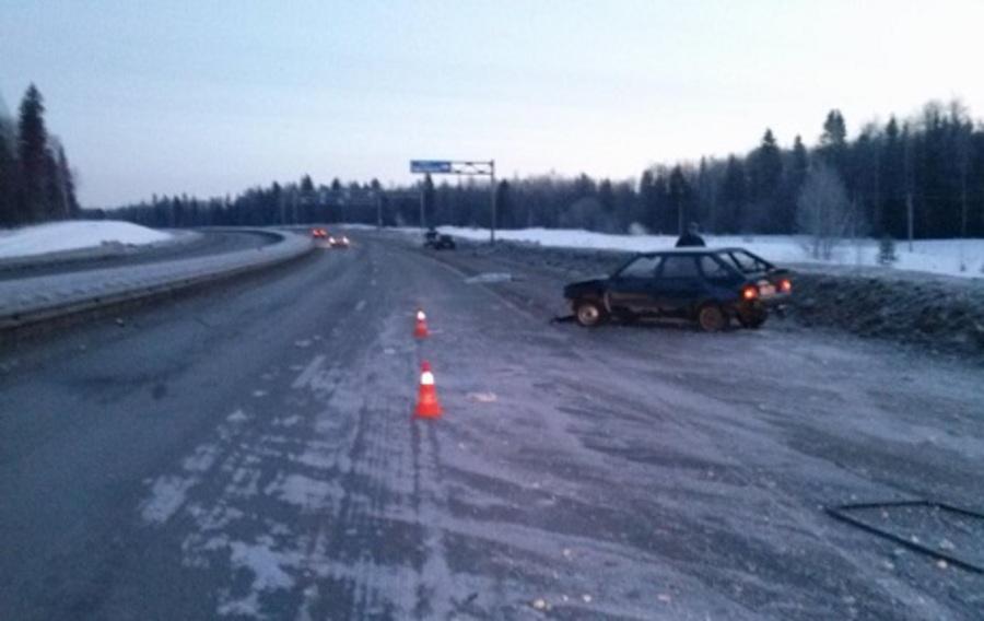 На Восточном обходе Перми в ДТП погиб пассажир ВАЗа