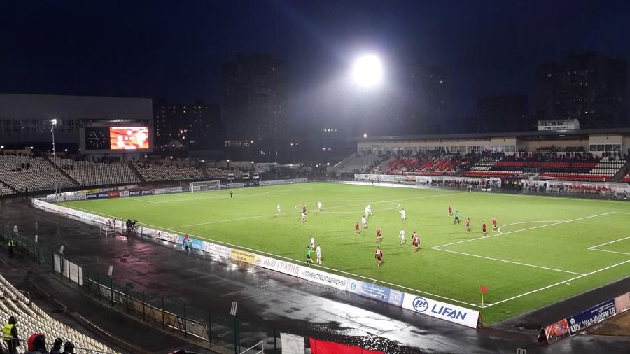 Пермский «Амкар» проиграл «Арсеналу» из Тулы