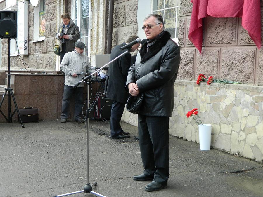 В Перми открыли мемориальную доску Владимира Парфёнова - фото 6