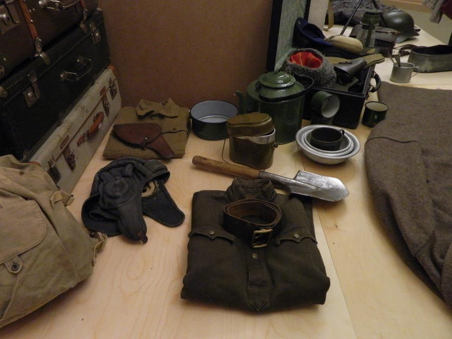В Перми открылась выставка вещей военных лет - фото 1