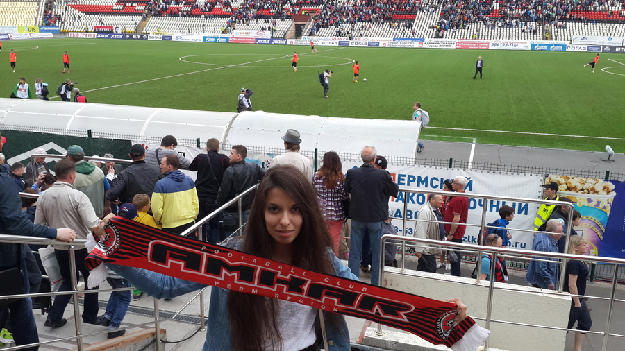 Пермский «Амкар» одержал победу над чемпионом страны - фото 1