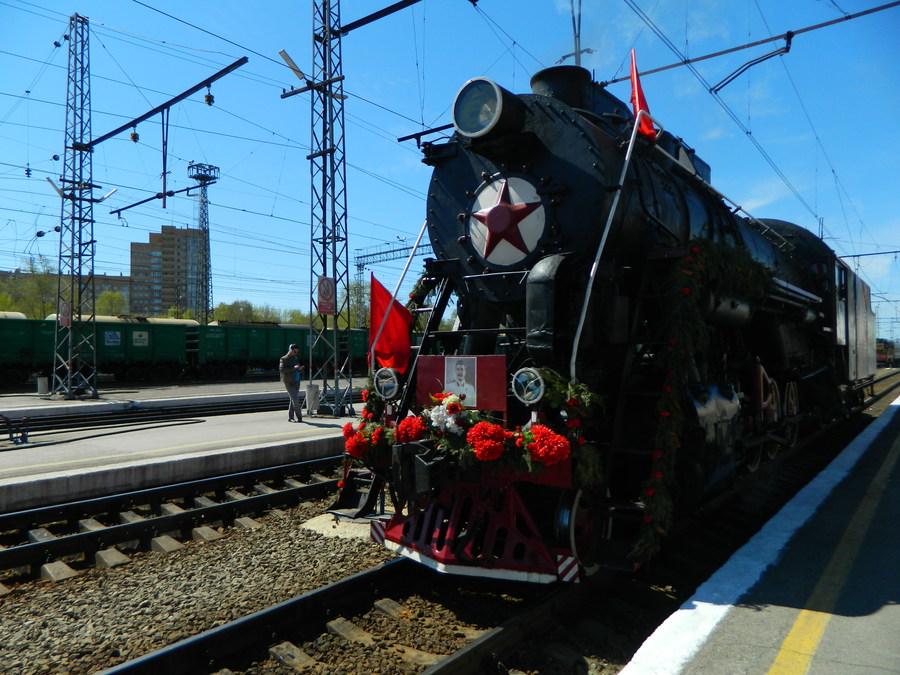 В Пермь прибыл «Поезд Победы»