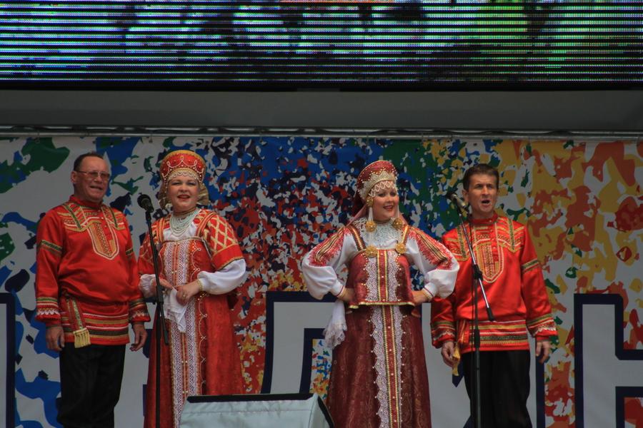 В Перми прошел концерт ансамбля из села Буб - фото 1
