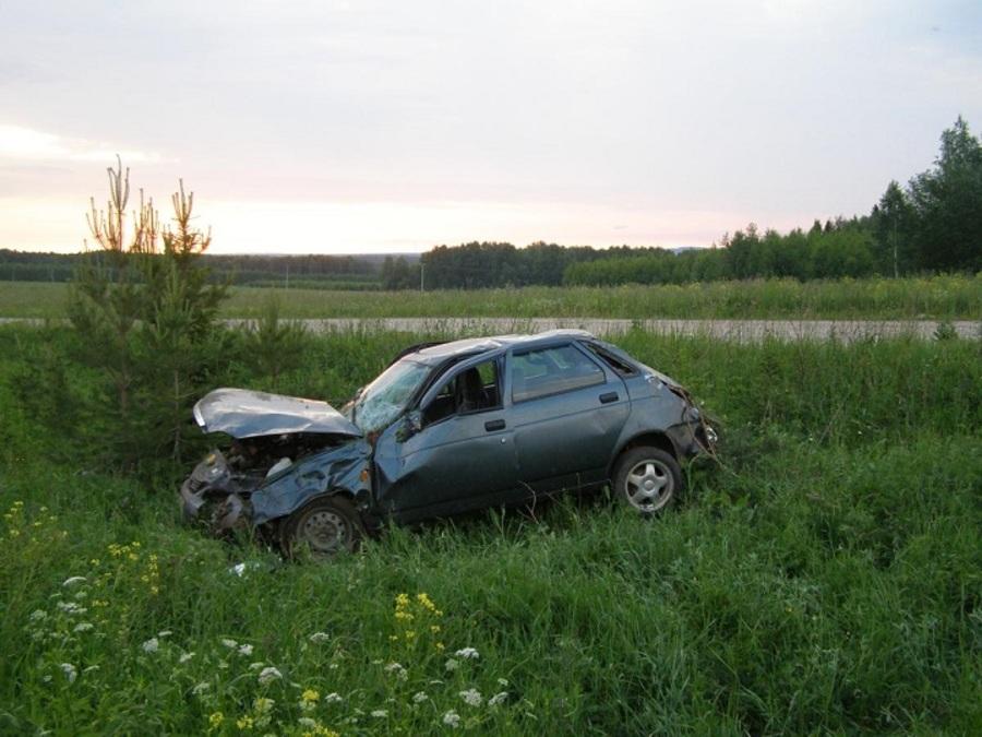 В Ильинском районе подросток, управляя Приорой без прав, скончался на месте ДТП - фото 1