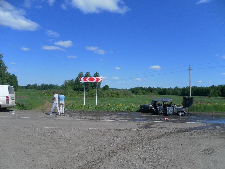 В Кунгурском районе в столкновении с Фольксвагеном погиб водитель «пятерки»