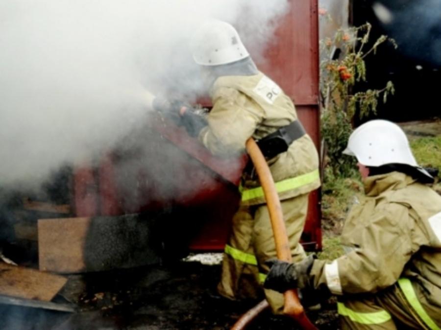 В Осинском районе сгорел жилой дом - фото 1