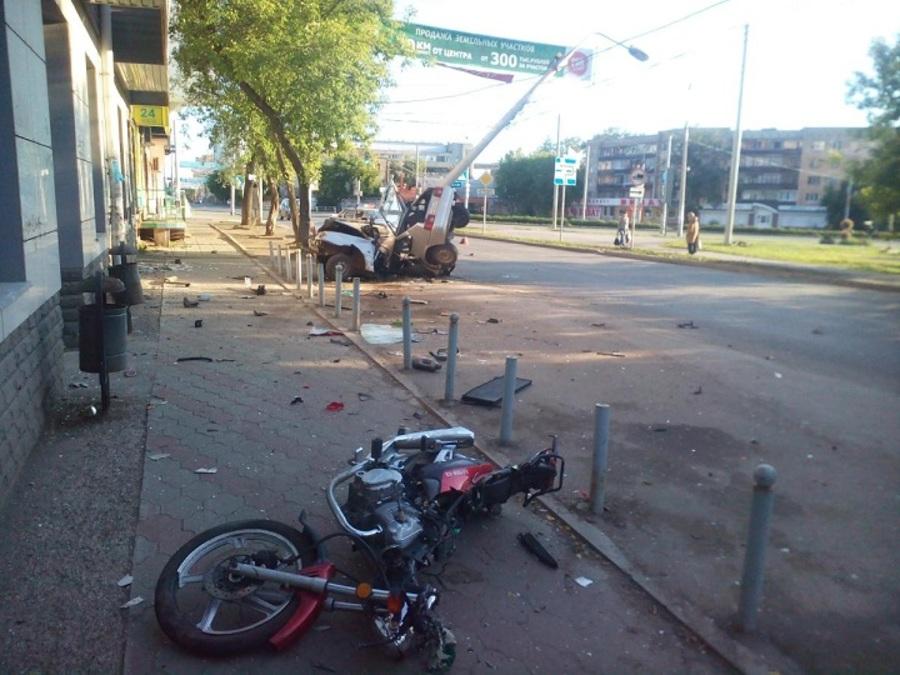 В Перми в столкновении с ВАЗом погиб мотоциклист - фото 1