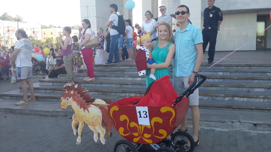 В Перми прошел марш детских колясок - фото 1