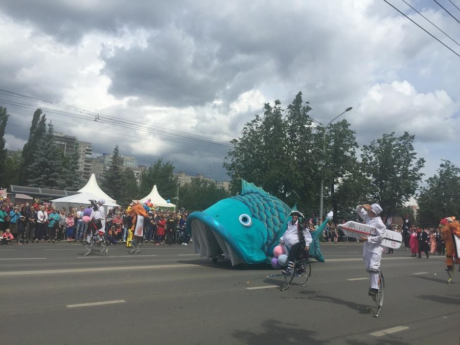 Карнавал «Пермское яркое» успел пройти до дождя - фото 1