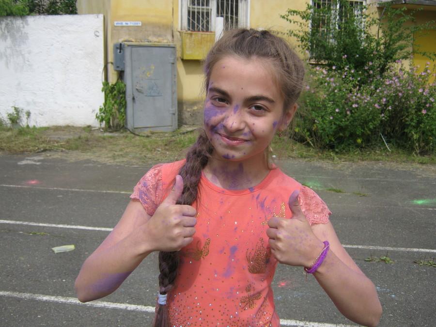 В Перми можно было красить людей и не бояться