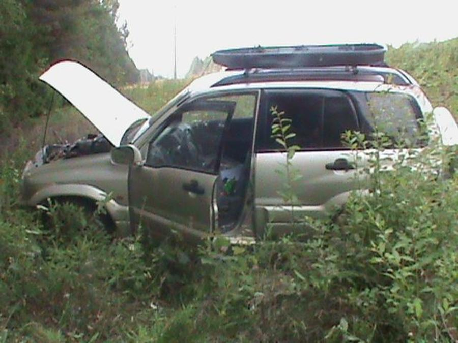 В Карагайском районе женщина-водитель перевернула автомобиль - фото 1