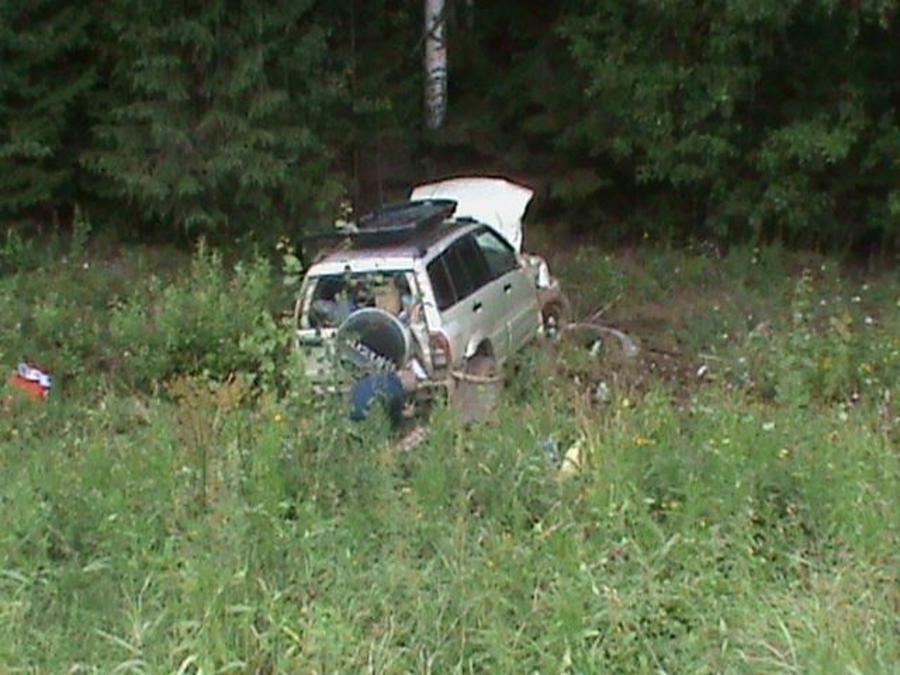 В Карагайском районе женщина-водитель перевернула автомобиль - фото 2