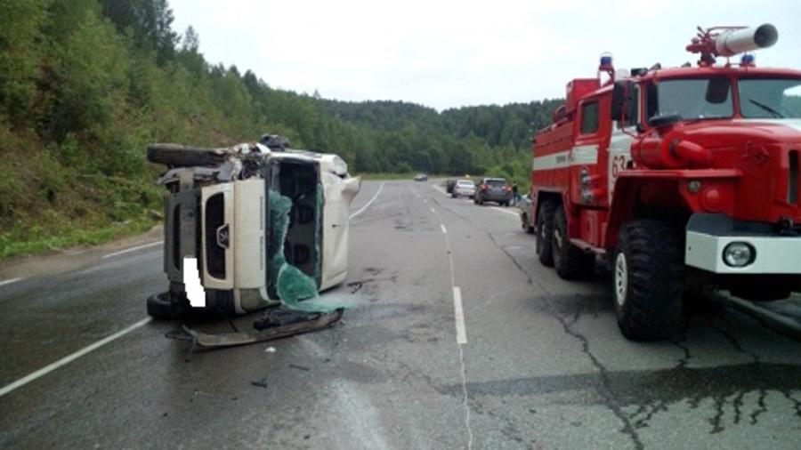 На трассе Кунгур — Соликамск в ДТП ранены трое взрослых и мальчик - фото 1