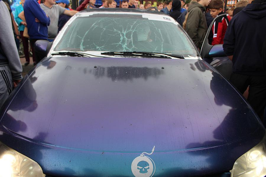 На фестивале автозвука в Кунгуре лопались лобовые стекла