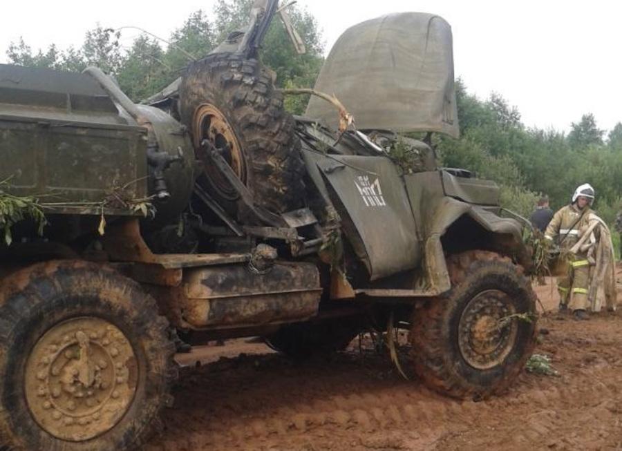 В Пермском крае погиб водитель грузовика - фото 1
