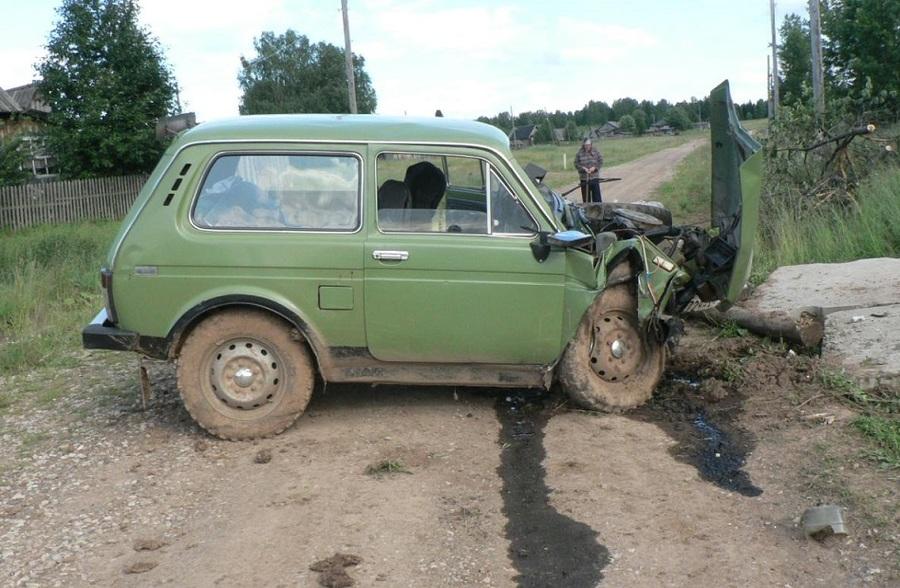 В Юсьвинском районе в ДТП погиб водитель Нивы, травмирован мальчик-пассажир