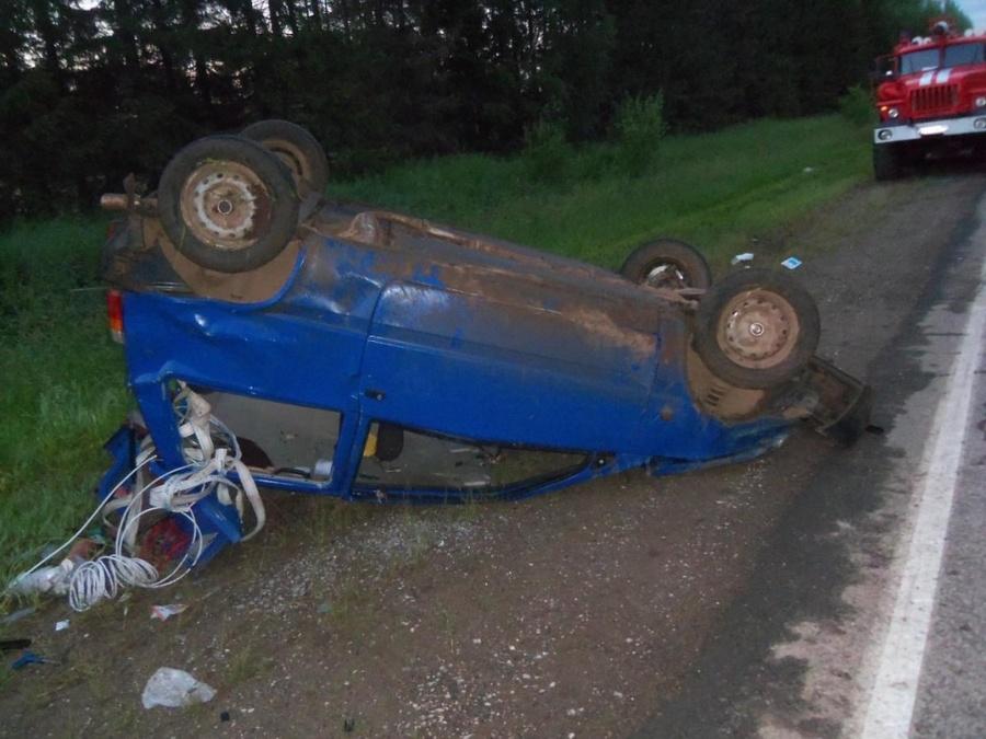 В Верещагинском районе погибла несовершеннолетняя девушка-водитель - фото 1