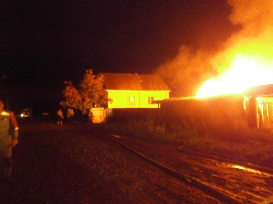 В Чернушке 23-летний сосед спас из огня четверых пенсионеров - фото 1