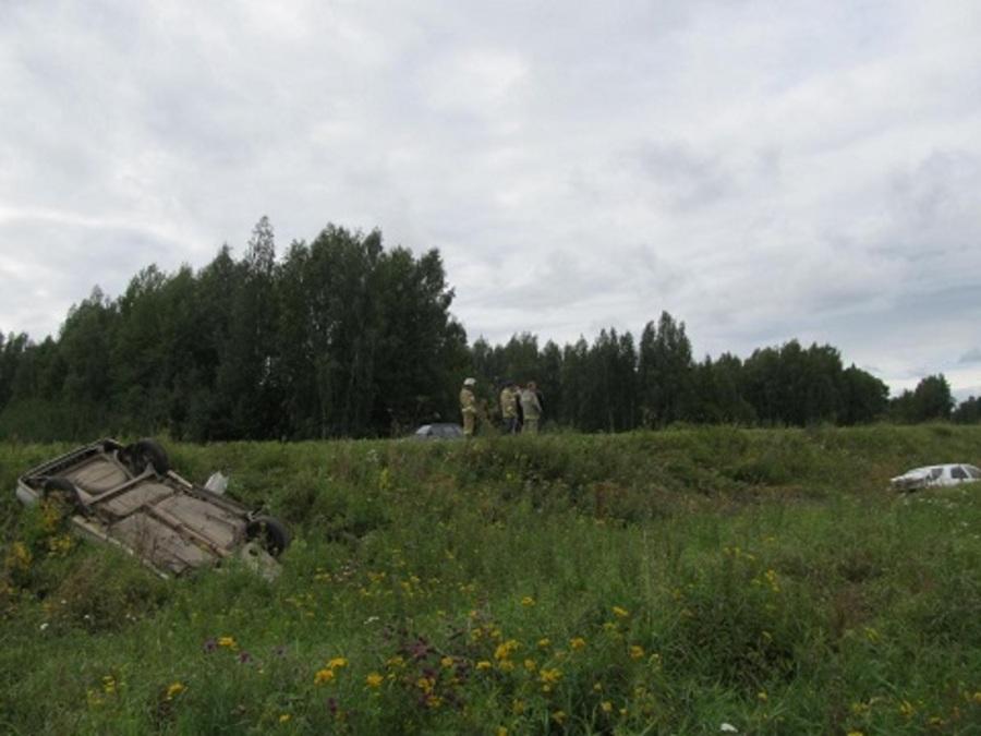 В ДТП в Ординском районе ранены трое взрослых и 6-летняя девочка - фото 1