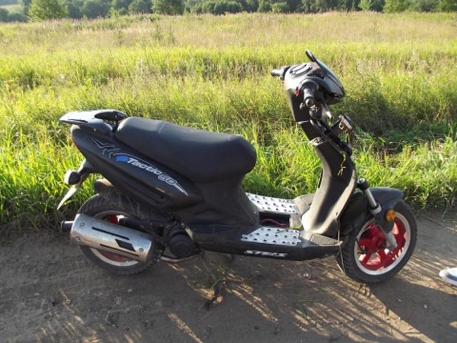 В Пермском районе погиб водитель скутера - фото 1