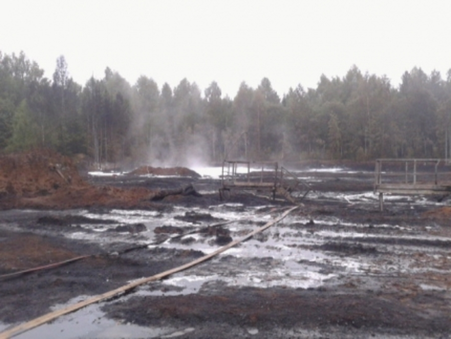 Пожар на нефтепроводе в Пермском крае ликвидирован - фото 1