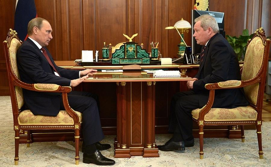 Рабочая встреча Президента России сгубернатором Пермского края