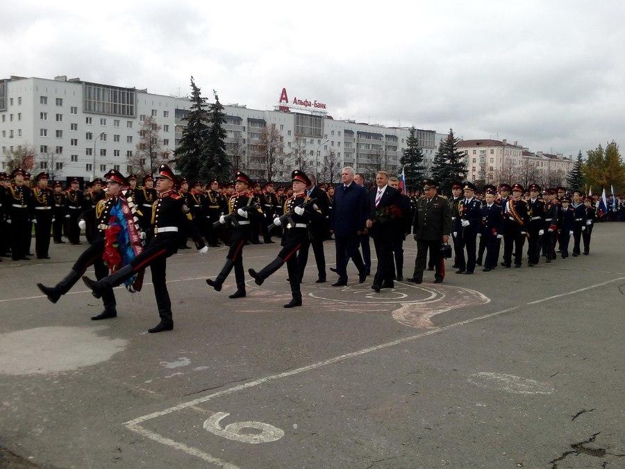 В Перми открылся всероссийский фестиваль «Виват, кадет!»