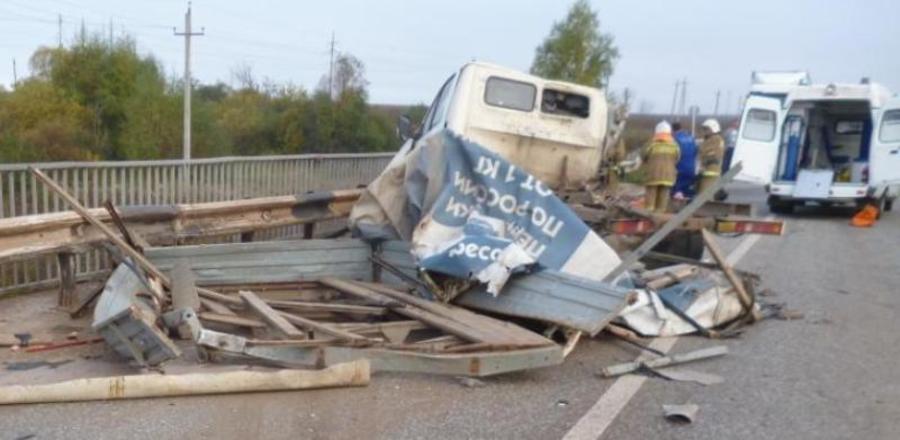 В ДТП аа автодороге Оса-Чернушка девушке-пассажиру Газели оторвало ногу