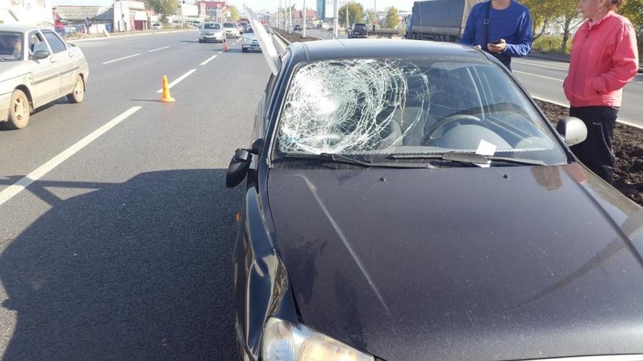 Вчера в Перми под колеса автомобилей попали мужчина и мальчик