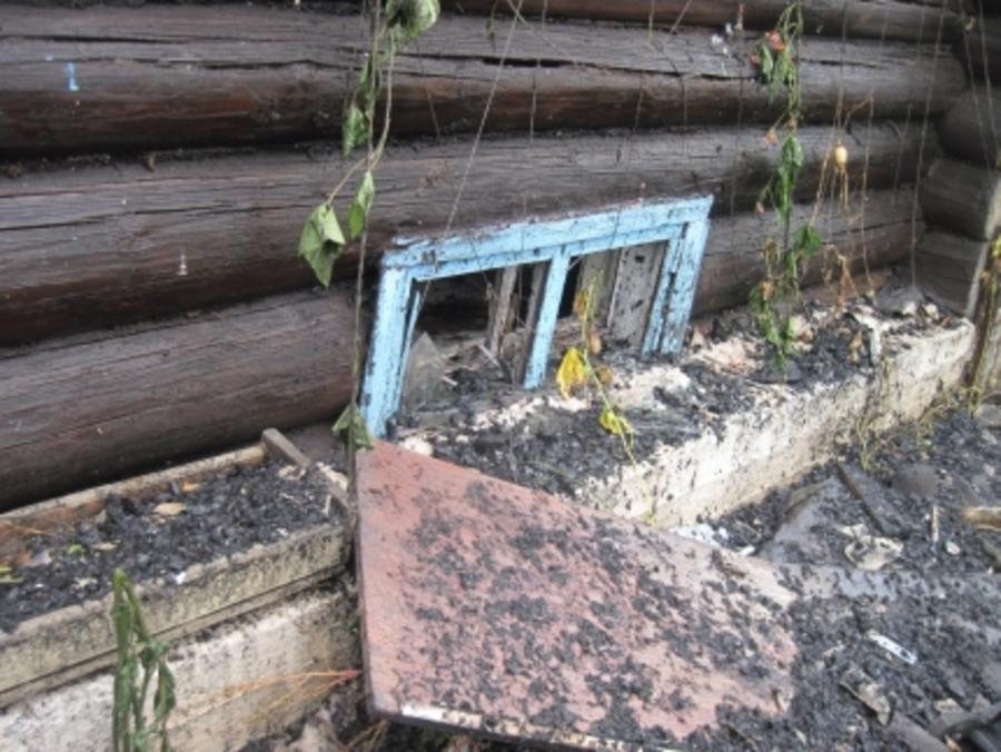В Перми пожарные спасли хозяина горящего дома - фото 1