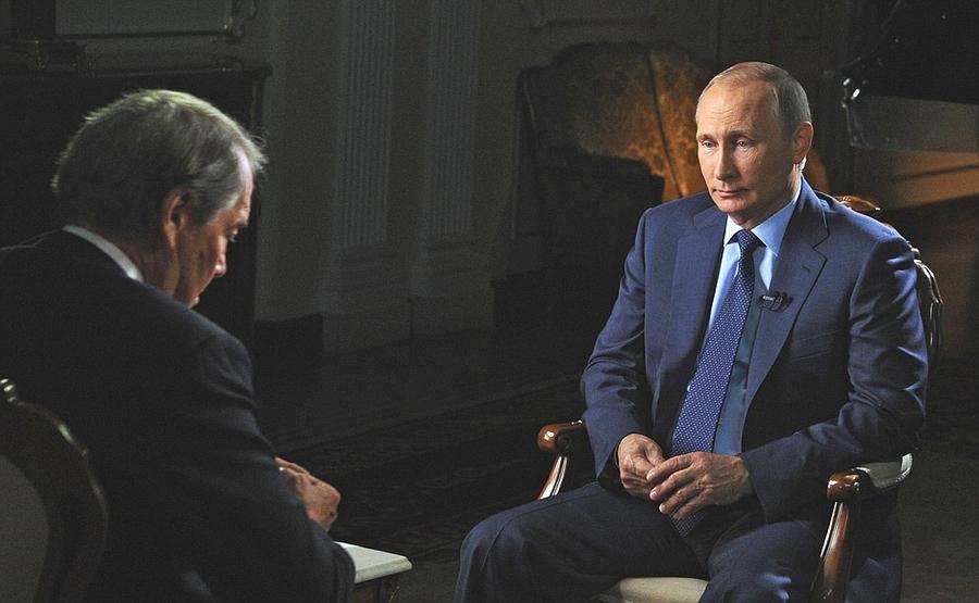 Ч.Роуз: ВСША оВас очень много говорят. В.Путин: Нечем больше заняться? - фото 1