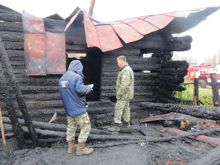 В Пермском крае возбуждено уголовное дело по факту гибели восьми человек на пожаре - фото 1