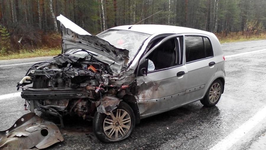 В Пермcком крае за выходные в ДТП погибли два человека, 43 - ранены - фото 1