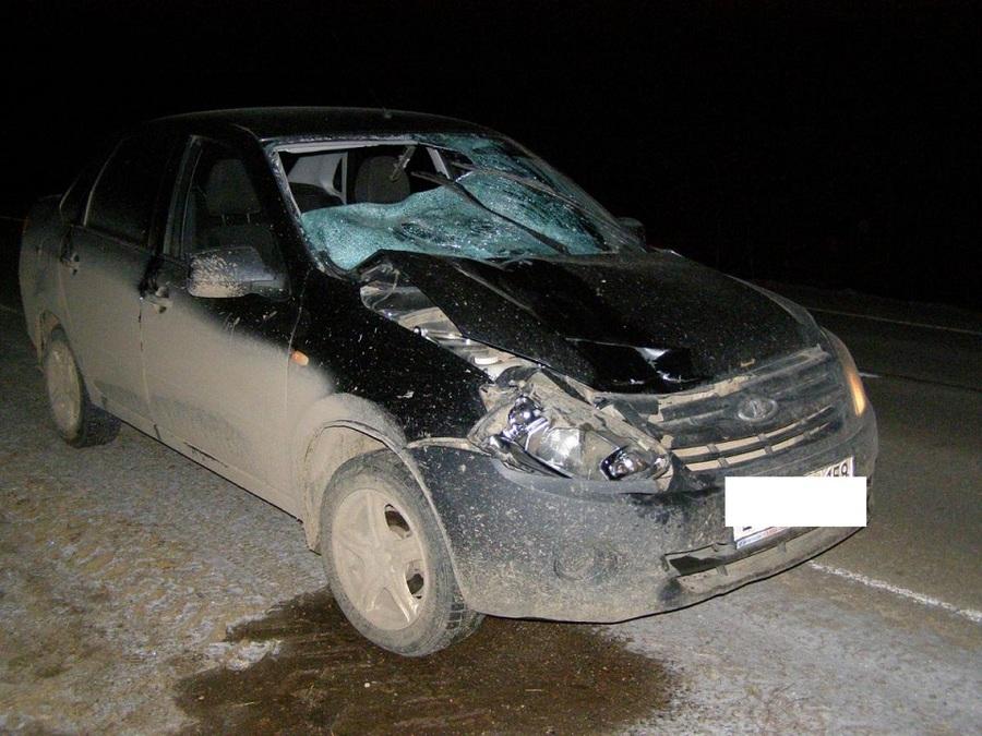 В Пермском крае Приора убила пешехода