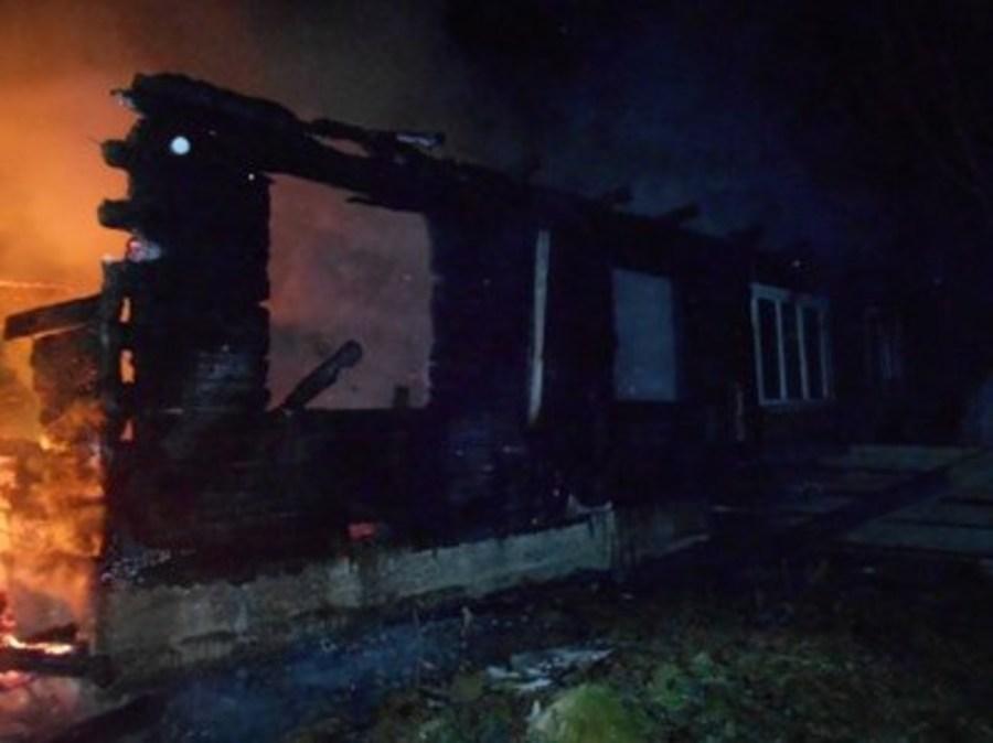 В Лысьвенском районе сгорели в своем доме мать и двое ее детей