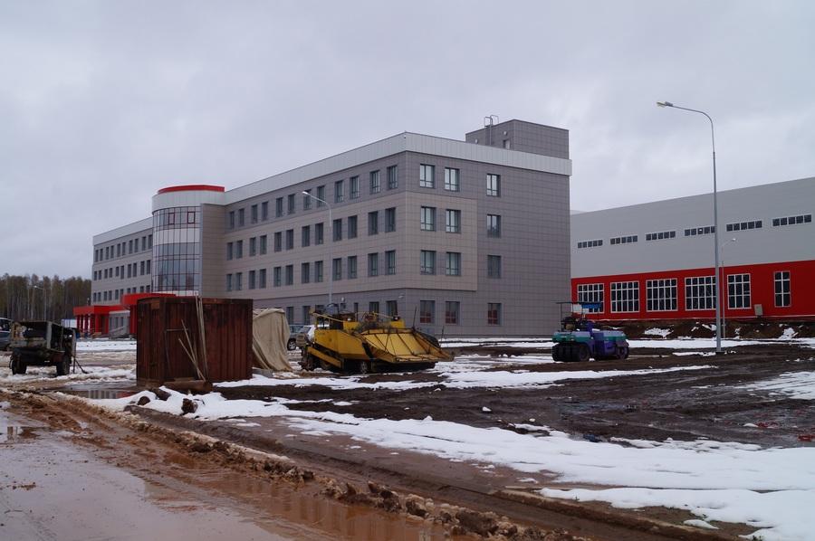 В Чайковском строится промышленный гигант