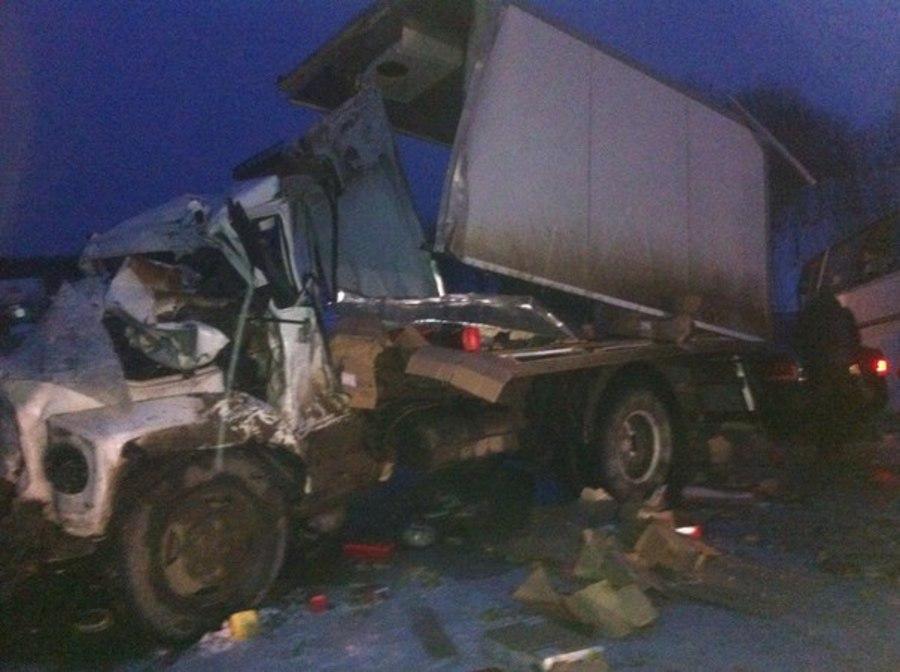 На трассе Пермь — Березники в ДТП с автобусом один человек погиб, шестеро ранены - фото 1