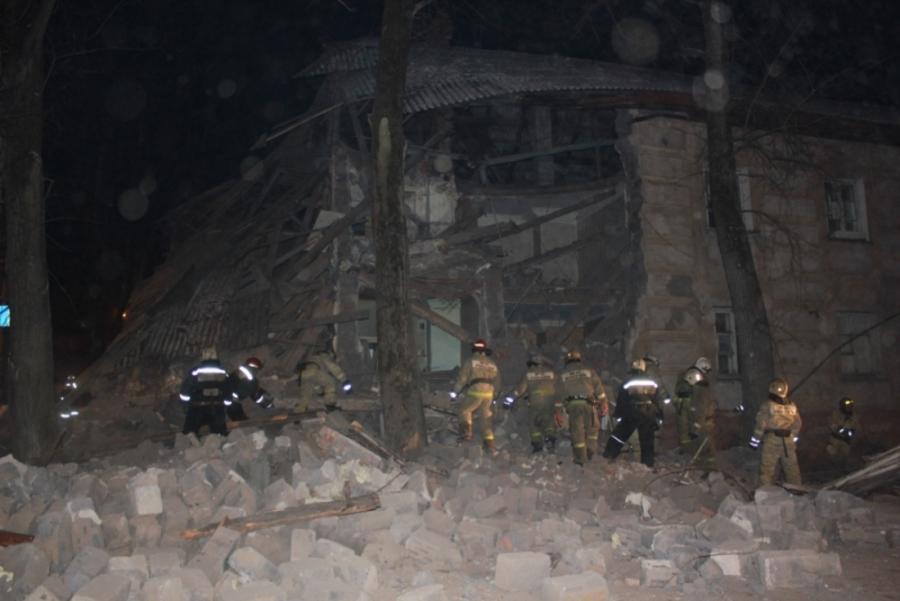 В Перми при обрушении дома погибших нет