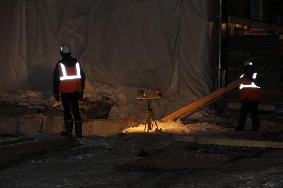 В Перми началось восстановление рухнувшего дома - фото 1