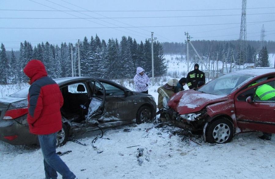 За выходные на дорогах Пермского края погибли 10 человек