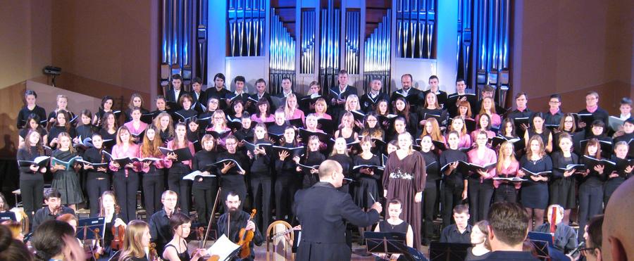 В Перми состоялся концерт вузовских хоров