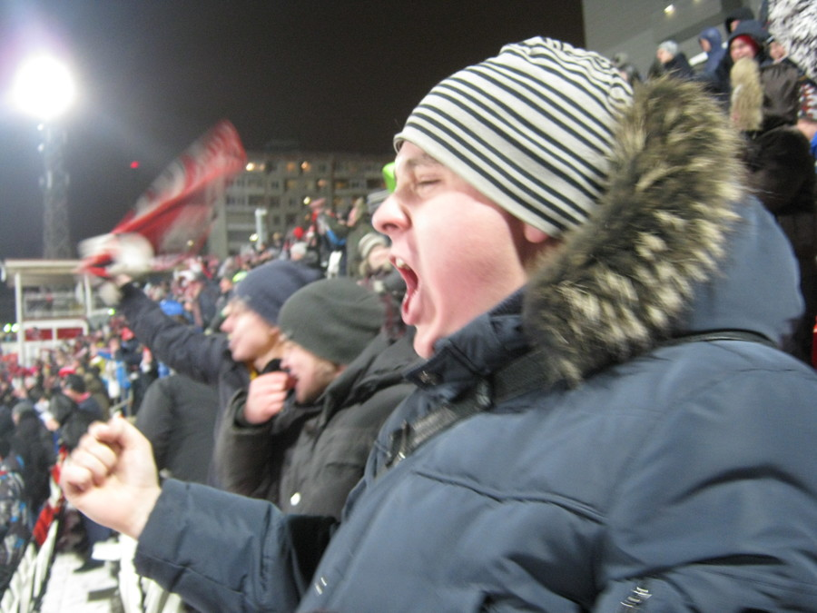 «Амкар» одержал победу над лидером Чемпионата