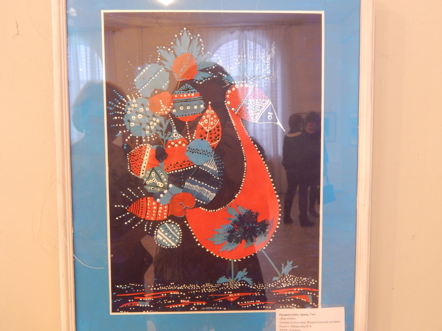 В Чусовом открылась выставка юной художницы - фото 1