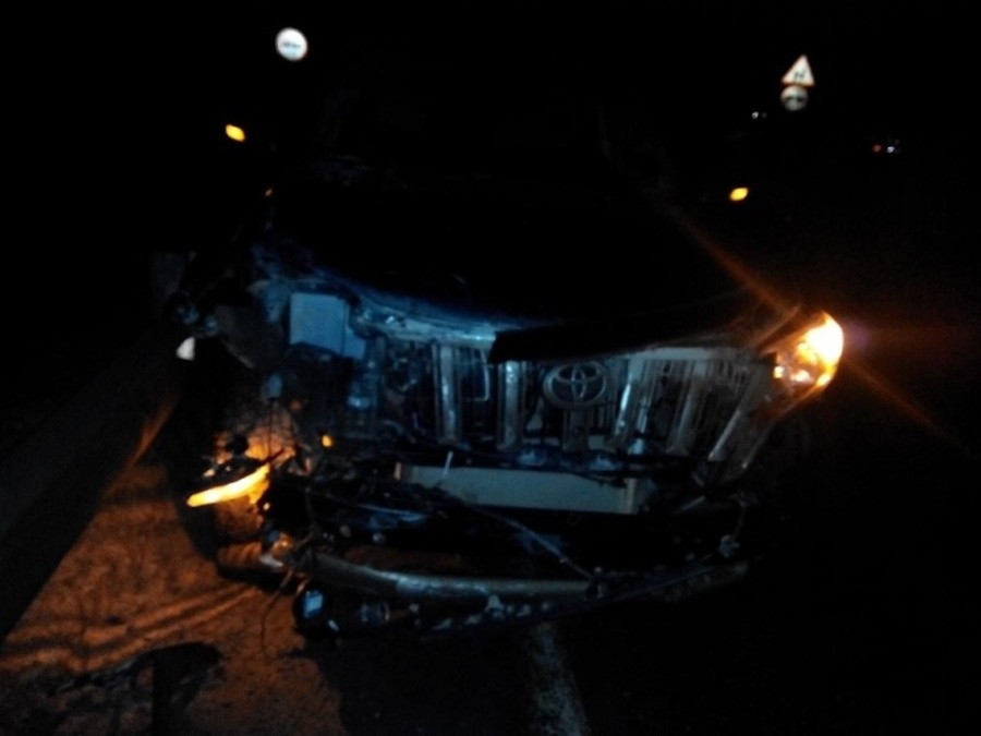 В Добрянском районе произошло ДТП с четырьмя автомобилями