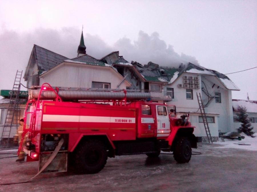 Установлена причина пожара в гостиничном комплексе в Пермском крае - фото 1