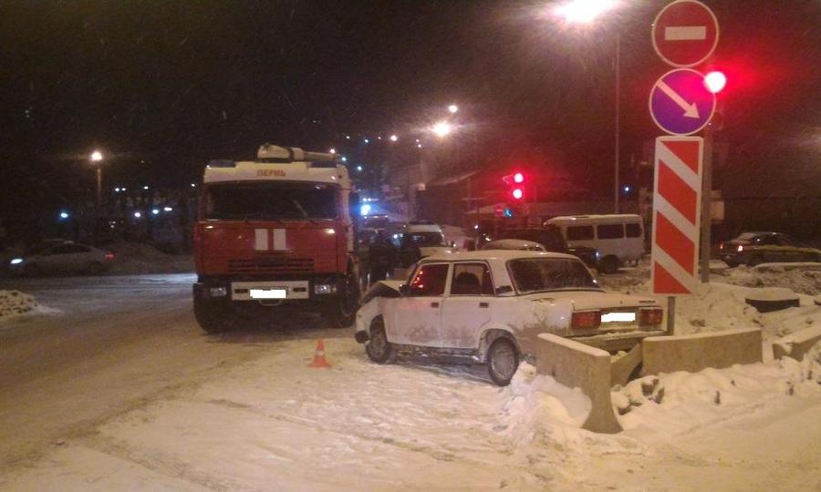 В Перми по вине пьяного водителя пострадал в ДТП 7-летний мальчик
