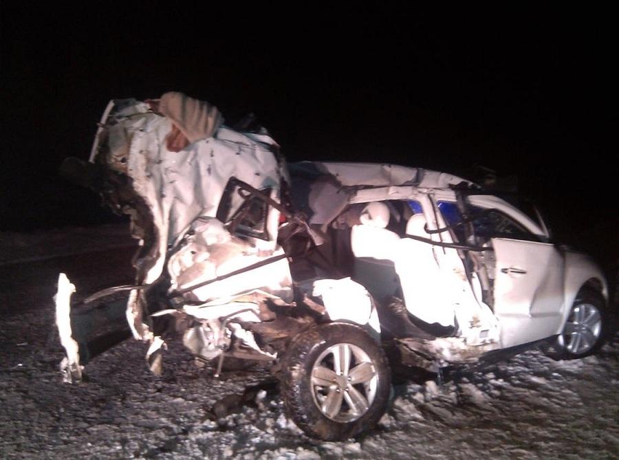 В двух ДТП на одной трассе в Пермском крае ранены шесть человек